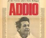 ultimo comizio di Enrico Berlinguer