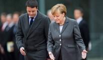 Italian PM Renzi visits Berlin